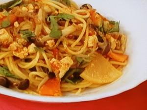 スパゲッティ精進ミートソース