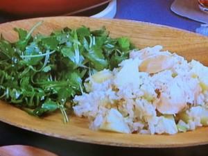 鮭とじゃが芋のみそバターごはん
