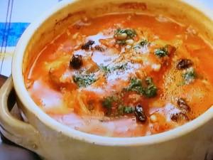 もこみち流 タラと松の実のトマト煮込み