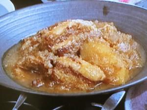 りんご角煮