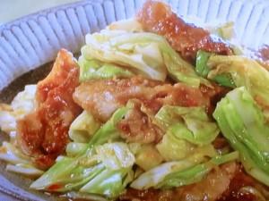 味噌 豚肉 炒め キャベツ