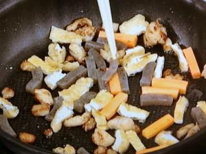 ひじきと鶏肉の煮物
