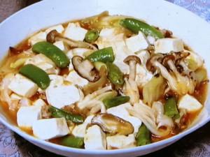 ひき肉と豆腐のとろっと煮