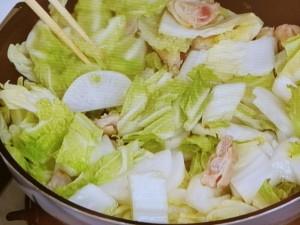 薄切り大根と白菜♪こってり甘味噌煮込み♪