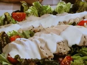 ペッパーチキンサラダ