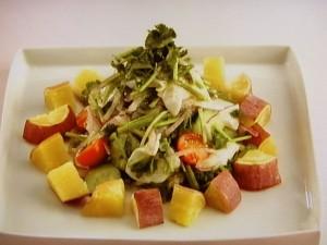鯛とさつま芋のセビーチェ