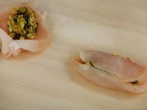 鶏胸肉のはさみカツ