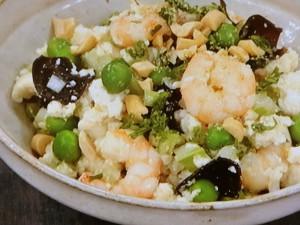 くずし豆腐のサラダ