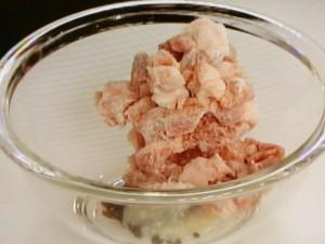 豚肉のトウチー蒸し