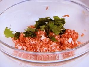 豚肉と青じその塩味焼き餃子