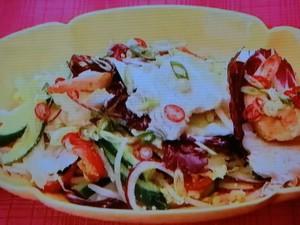 もこみち流 タイ風 ミックスサラダ