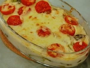 アスパラのチーズ焼き