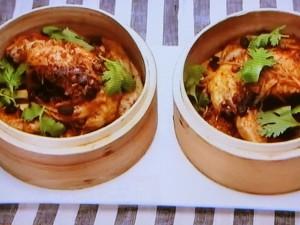 もこみち流 鶏手羽の豆豉蒸し
