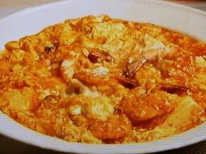 えびと豆腐のチリソース