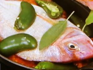 もこみち流 真鯛のハラペーニョ オーブン焼き