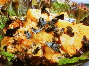 キムチポテトサラダ