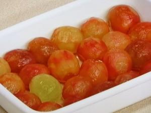 ぶどうの赤ワインマリネ