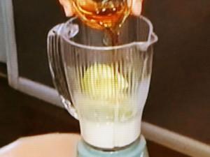 アボカドシロップのかき氷