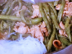 いんげんと豚肉のくたくた煮