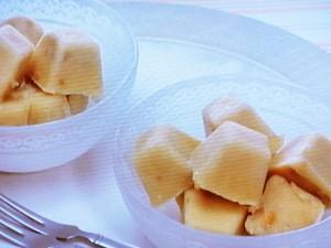バナナとピーナツバターのひと口アイス