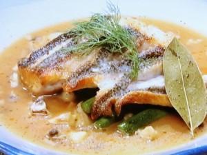 白身魚のカリふわポワレ