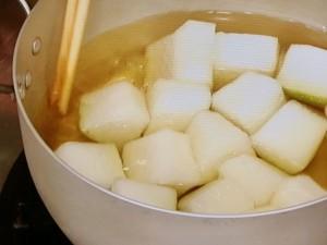 冬瓜と豚肉のさっぱりみそ煮