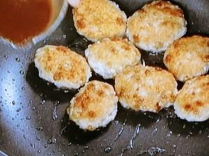 納豆団子のトウチー炒め