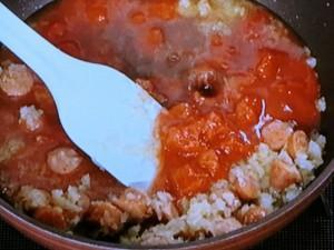 オクラのトマト煮込み