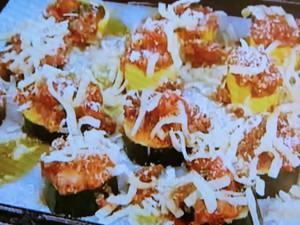 もこみち流 ズッキーニのトマトソースがけオーブン焼き