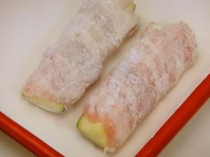 ズッキーニの肉巻き