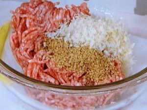 根菜とごま肉だんごのスープ