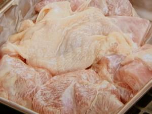 鶏とチンゲンサイのおろし煮