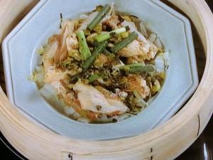 手羽と白菜の蒸しもの