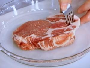 豚肉ときのこの蒸し煮