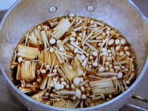 えのきの醤油煮