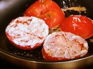 トマトのバターソテー