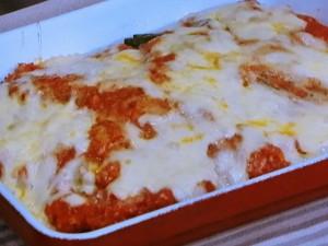 豆腐のツナトマトソースグラタン