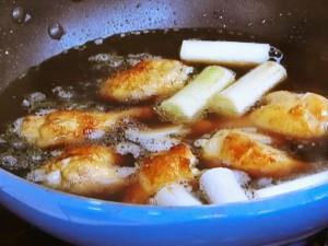手羽元の黒酢煮