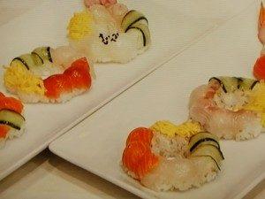 まるでスイーツ!?寿司ドーナツ