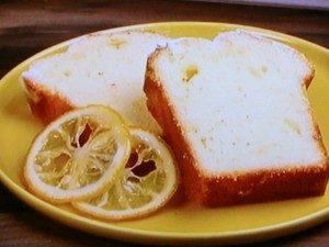 フレッシュレモンのパウンドケーキ