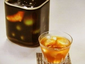 黒糖しょうが梅酒