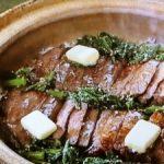 土鍋ステーキご飯
