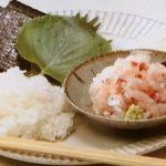 ブリの手巻き寿司