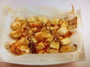 ローズマリー風味のローストポテト