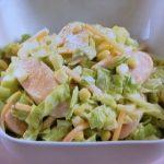 魚肉ソーセージのホットサラダ