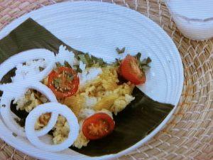 カップ麺スープのビリヤニ風