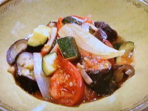 NHKきょうの料理「ジンジャーラタトゥイユ」のレシピby上田淳子