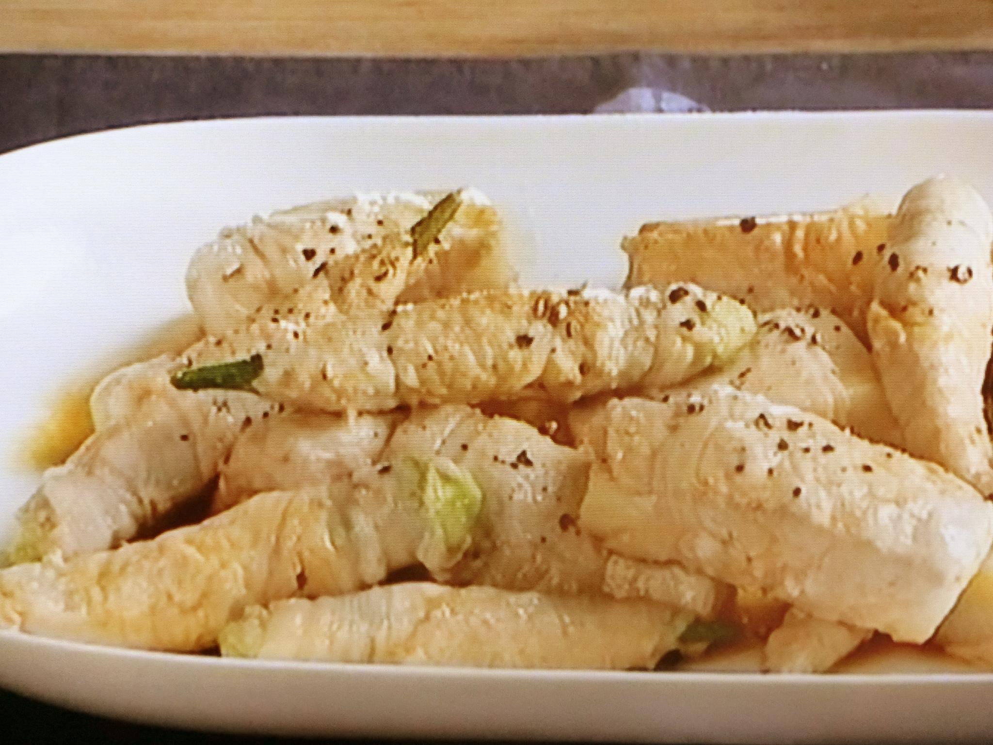 キューピー3分クッキング「長芋とオクラの肉巻き バターポン酢