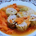 ロール白菜のトマト煮