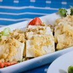 豆腐のごまマリネ
